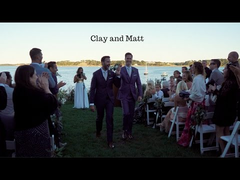Matt and Clay // Cape Cod Wedding // Wequassett Resort and Golf Club // Same Sex Wedding
