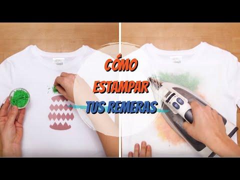 Cómo estampar tus camisetas   DIY   VIX