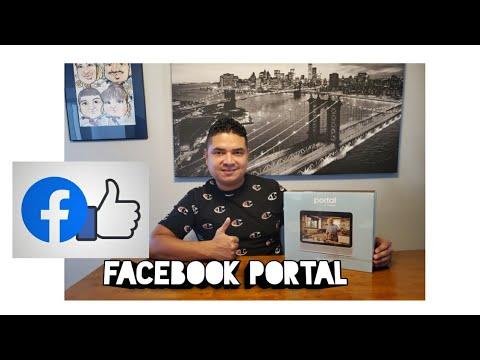Facebook Portal Unboxing