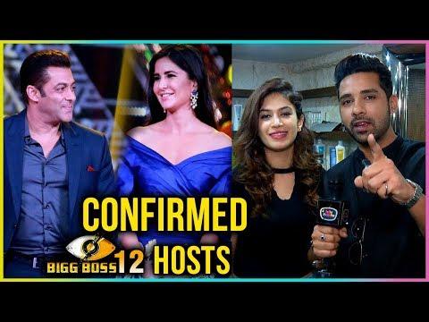 Puneesh Sharma And Bandgi Kalra CONFIRMS Salman And Katrina HOSTING Bigg Boss 12 | TellyMasala