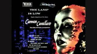 Carmen Cavallaro - The lamp is low (1953)  Full vinyl LP