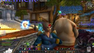 World of Warcraft [PC] Project 60 - Leveling in Duskwood. Warlock. Patch 7.3.5. ( ¬‿¬)