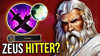 ZEUS HITTER? - WTF Zeus Carry Build Sange Yasha New Meta 7.09 Dota 2 | Upside Down 57