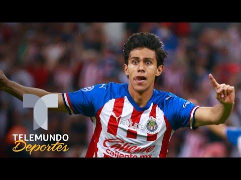 ¡Por fin! Se acabó la sequía goleadora en Chivas y JJ Macías es el héroe   Telemundo Deportes