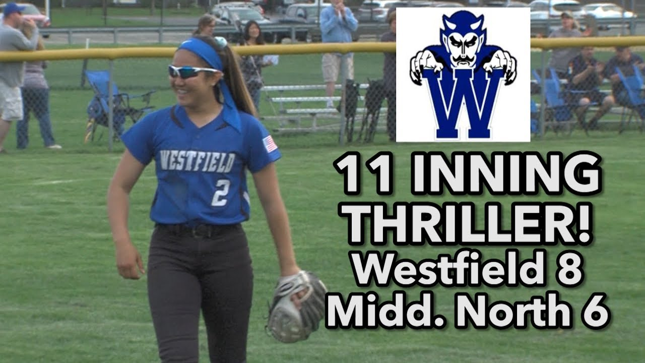 super popular d5a52 dfa01 Westfield 8 Middletown North 6 | 11 innings | Blue Devils 4 HR's in upset  win!