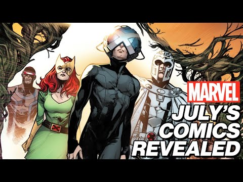 EXCLUSIVE: July's New Marvel Comics Revealed! | Marvel's Pull List