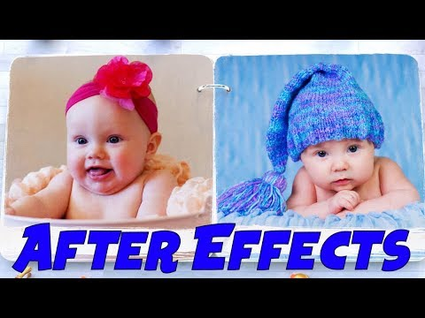 Креативный детский фотоальбом в After Effects