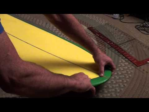 Mr. Mike Surboards: Part 19, Board pinstriping