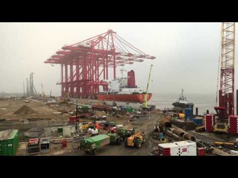 Time lapse construction of Liverpool2