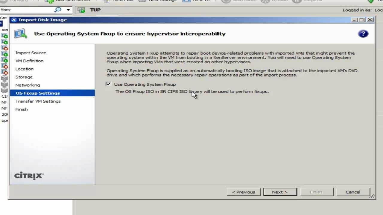 Citrix: XenServer VHD Import for Hyper-V