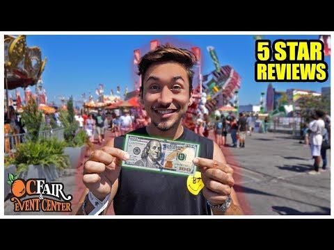 $100 OC Fair Food Challenge! The BEST Reviewed Fair Food! thumbnail