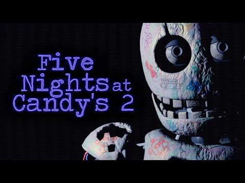 FIVE NIGHTS AT CANDY'S 2: ¡BLANK QUIERE MATARME! - NOCHE 5 | iTownGamePlay