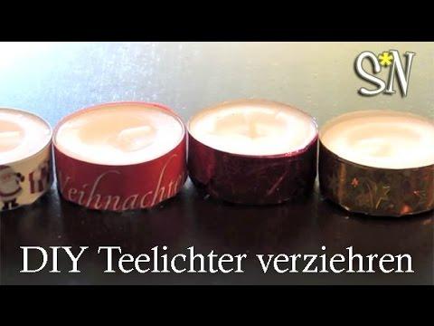 3 t rchen quicktipp weihnachtliche teelichter youtube