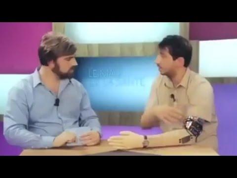 Funny Robotic Arm Fail On TV!