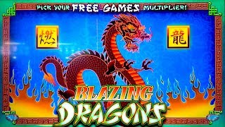 Blazing Dragons Slot - SO CLOSE TO THE BIG ONE - Short & Sweet!