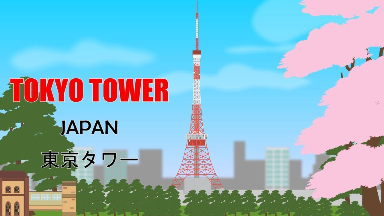 tokyo tower youtube