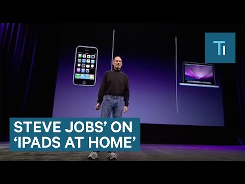 Steve Jobs Never Let His Kids Use An iPad