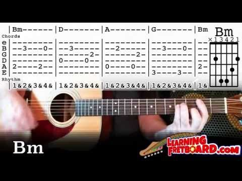 X AMBASSADORS - RENEGADES ACOUSTIC CHORDS+TABS FAST THEN SLOW ...
