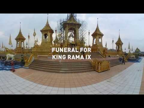 Virtual Thailand: Enter the Crematorium of King Rama IX