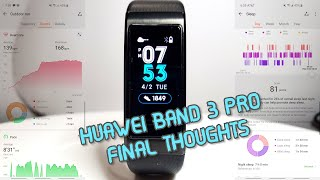 Huawei Band 3 Pro, All You Need to Know