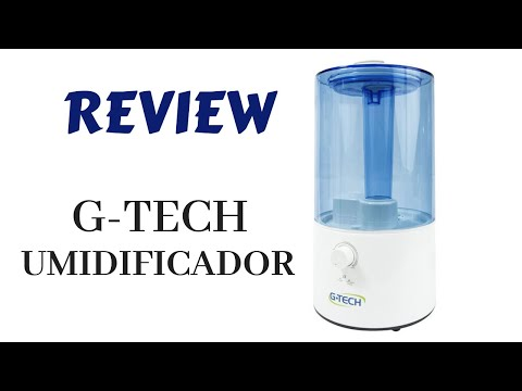REVIEW UMIDIFICADOR G-TECH
