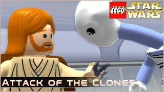 Attack of the Clones  - Part 1/2 - Lego Star Wars: The Complete Saga