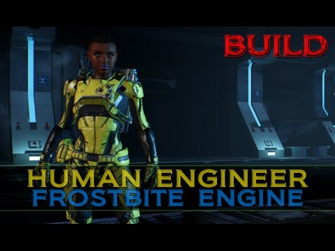 Mass Effect Andromeda: Human Engineer Build w/Gameplay [Frostbite Engine]