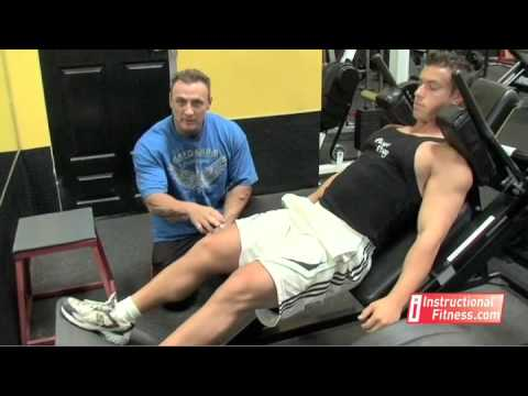 Instructional Fitness - Hack Squats