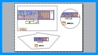 Autocad - Crear diferentes tipos de ventanas gráficas, nuevas formas. Tutorial en español HD thumbnail