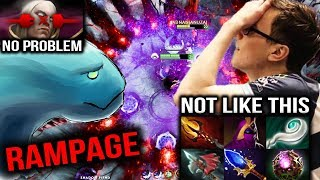 RAMPAGE Morphling VS Miracle- Shadow Fiend Magic Item Build Dota 2 7.07