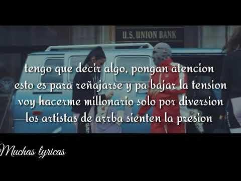 Mc Davo - Los Bandidos - ( Letra ) Muchas Lyricas