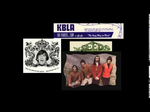 The Seeds on KBLA/Los Angeles radio - 1967
