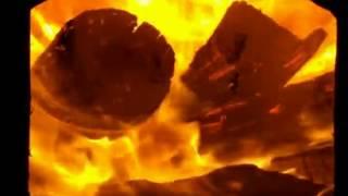Топка печи(Показана топка в режиме: - полностью открыта поддувальная дверка, - далее полностью закрытая (доступ кислоро..., 2014-05-01T18:03:00.000Z)