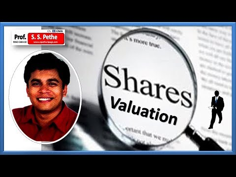 Valuation | Buy Shares | Buy Stocks | Valuation of Company | Valuation of Shares - Part A