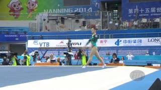 MUSTAFINA Aliya (RUS) – 2014 Artistic Worlds, Nanning (CHN) – Qualifications Floor