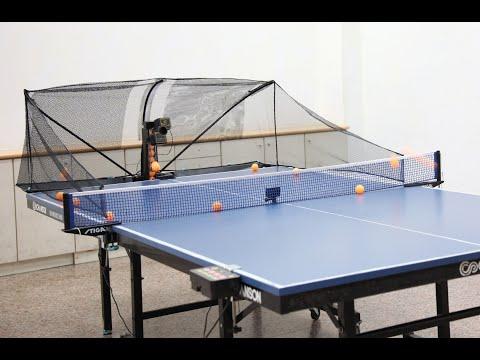 SUZ桌球發球機S201.乒乓球機器人一人打球Table Tennis Robot