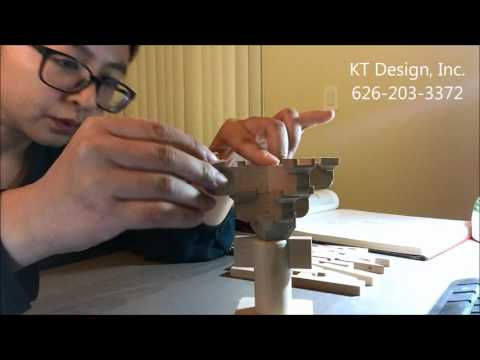 Traditional Chinese Architecture: Fo Kuang Temple Bracket Set Demo