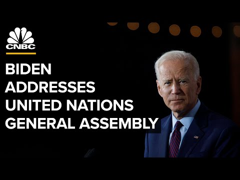 Biden addresses the 76th session of the United Nations General Assembly — 9/21/2021