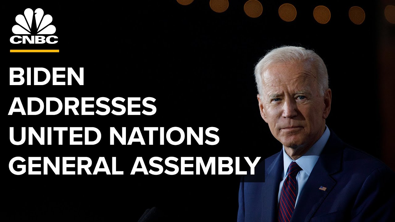 Biden addresses the 76th session of the United Nations General Assembly — 9/21/2021 - YouTube