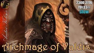 "Archmage of Valdis - ""Dungeon Siege 2"" - digital painting (slow)"
