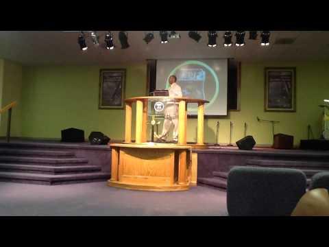 PASTOR BRUCE COHEN PREACHING @ PASTOR BRUCE ALLEN'S CHURCH