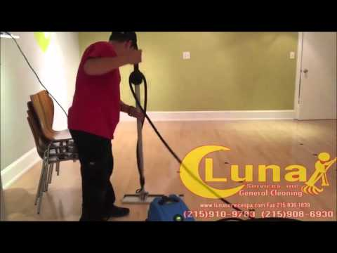Commercial Cleaning   Luna Services, PA