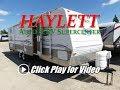 HaylettRV - 2005 Springdale 296BHG Used Outside Garage Storage Bunkhouse Travel Trailer