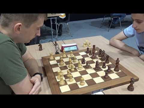 Blitz Chess: GM Gajewski Grzegorz - FM Vladislav Larkin, Slav Defense