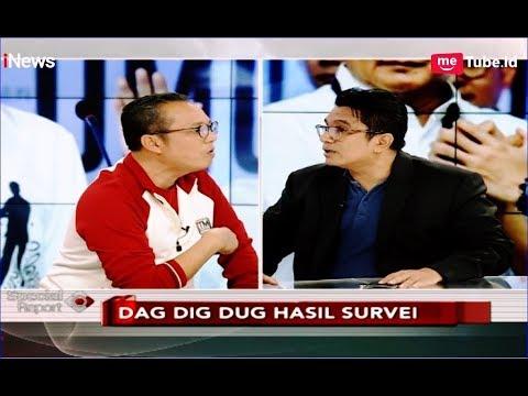 Nyaris Adu Jotos! TKN Jokowi dan BPN Prabowo Saling Serang Hasil Survei - Special Report 20/03