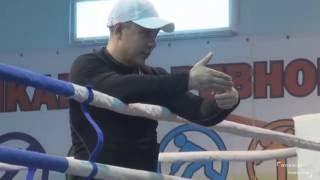Левый боковой удар в боксе. Урок № 14 (Часть 1).