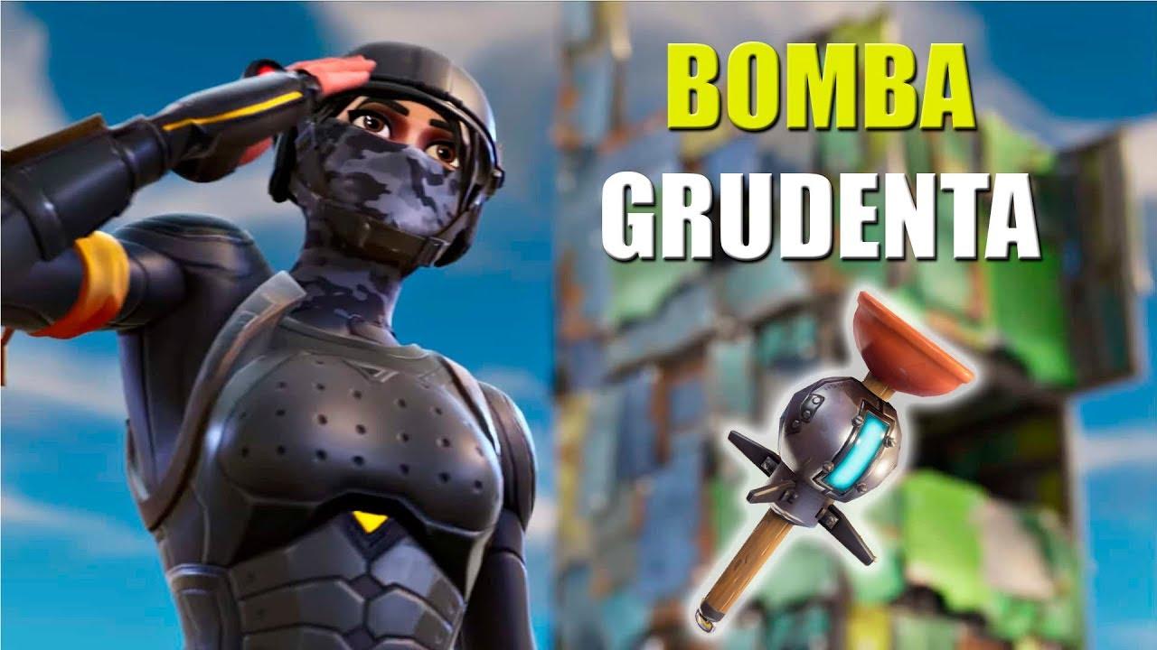 Não adianta correr! Nova Bomba Grudenta - FORTNITE BATTLE ...
