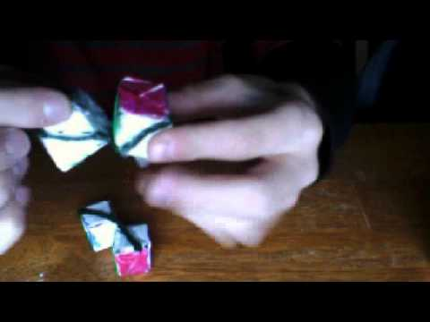 how to make a 2x2x1 rubik 39 s cube out of paper youtube. Black Bedroom Furniture Sets. Home Design Ideas