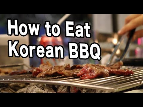 How to Eat Korean BBQ — Mexico Travel Vlog #14