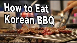How to Eat Korean BBQ — Mexico Travel Vlog #14